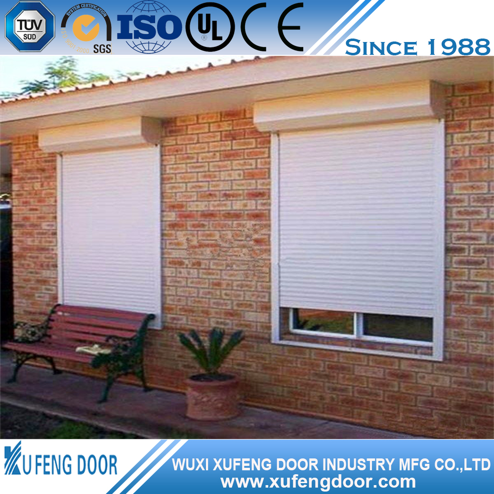 Elegant Roller Shutter Electric Window Shutters Exterior