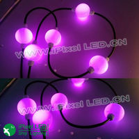 ws2801 50mm disco dmx 3D pixel dance hanging led ball string