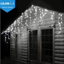 Ramadan white outdoor led icicle christmas lights Mainly Festivals outdoor decoration