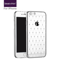 Factory Wholesale crystal diamond phone case for iPhone 6s/6s plus