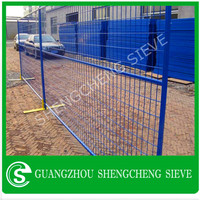 Hot dipped galvanized wire mesh temporary fence, temporary fence panels for sale