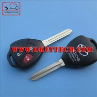 Okeytech toyoya key shell Toyota yaris 2+1 buttons remote key shell for toyota yaris key