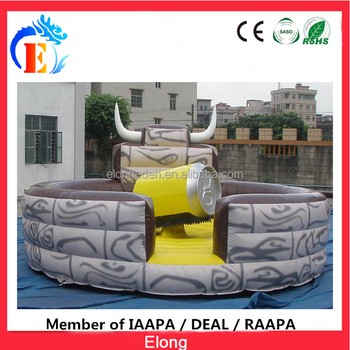 Elong high quality inflatable mechanical Coca can amusement ride for sale