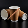 hot safe thickened kraft paper coated paper cup