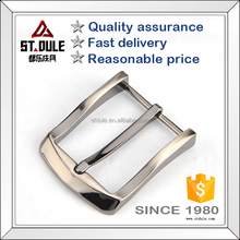 High quality plain metal pin belt buckle single prong buckle different design
