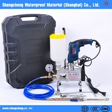 One-man Operated Pressure-Adjustable Pump waterproof project SL-6001 with BOSCH drill metallic grout