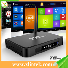 Best android tv box T8 Pro Kodi android tv box CPU AML8726-s812 2GB/ 8GB kodi black box internet tv