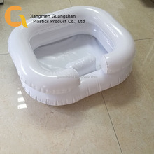 portable in bed hair washing inflatable shampoo basin