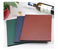 Premium Faux Leather Menu Covers For Two Piece Inner Menu Bill
