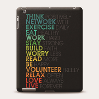Custom Plastic Protective Shell Cover for Apple iPad 2345