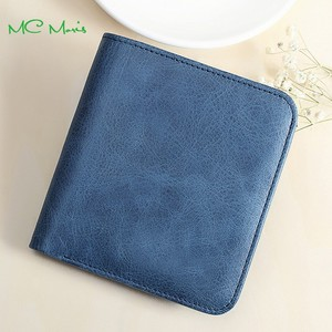Hot Sell Vintage Top Grain Genuine Ladies Leather Wallet With Change Purse