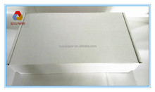 white color Wax Coated food packaging box