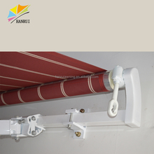 Wholesale Aluminum Manual Retractable Awning Toldo Carpa Retractil 3x3m for Patio ,Deck, window, door, balcony , terrace or corn