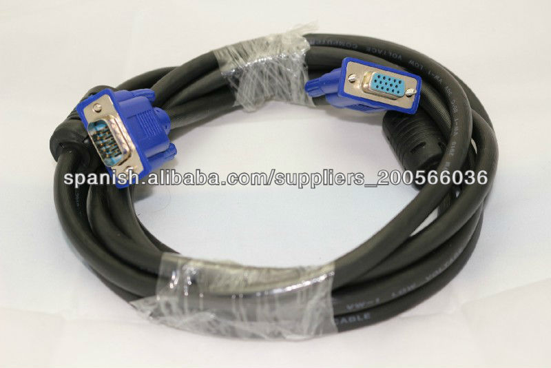 15pin VGA to VGA adapter cable wiring diagram vga cable male to female cable