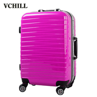 colorful cheap abs printed plastic cover luggage