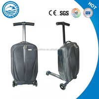 best selling trolley luggage suitcase with rear brake