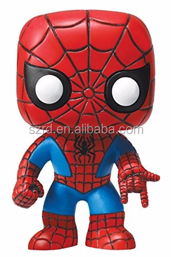 Funko POP! Marvel 4 Inch Vinyl Bobble Head Figure Spider Man action figure