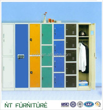 colorful steel four doors clothes locker from New Bright Furniture