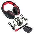 New big earcups 2.4Gh wireless gaming headphone 7.1 surround sound wireless gaming headset for PS4 Xbox one Xbox 360 PC