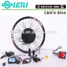 70KM/H Electric bike hub motor kit 48v 1000w with Ebike lithium battery for sale