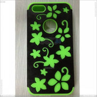 Hybrid PC+Silicon gel case for Apple iPhone 5--P-IPH5HCSO010