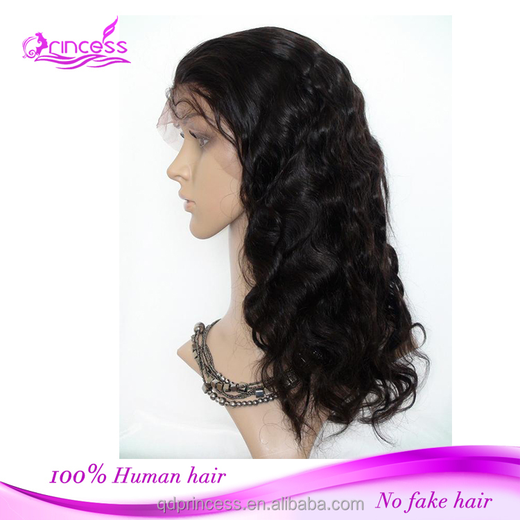 Top Grade Glueless Full Lace Human Hair Wigs Virgin Remy Indian Body Wave Hair Lace Front Wig For Black Women Drop Shipping