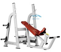 Incline Bench with barbell rack 2014