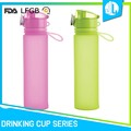 Portable great material new design silicone office water bottle