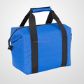 Fashion portable travel non woven wine cooler bag