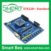 Smart Electronics High Quality , STK128+ Standard, quick start to develop code, AVR Dev.Board