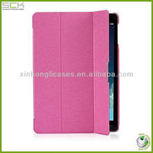 Folding leather cover for ipad air , ipad 5