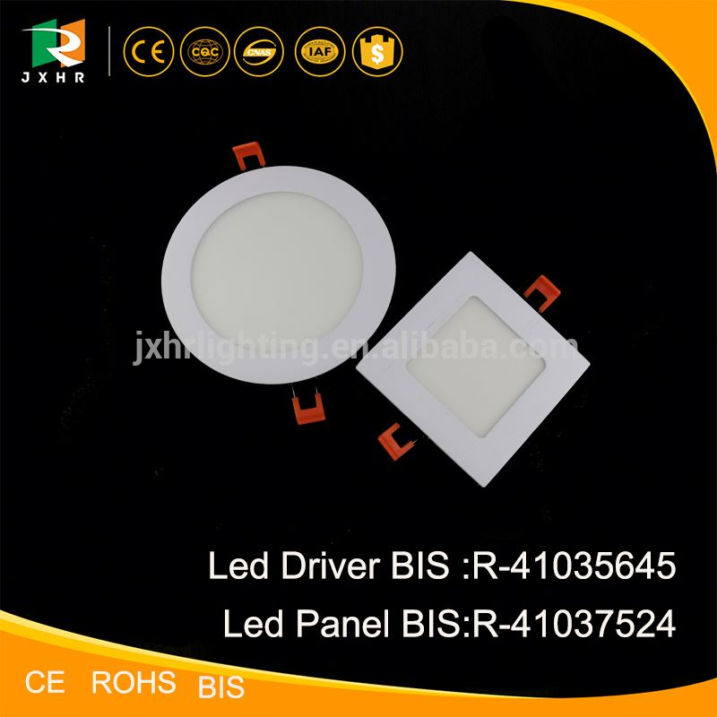 India market BIS Certificate Best quality Alu led panel light led lighting price list