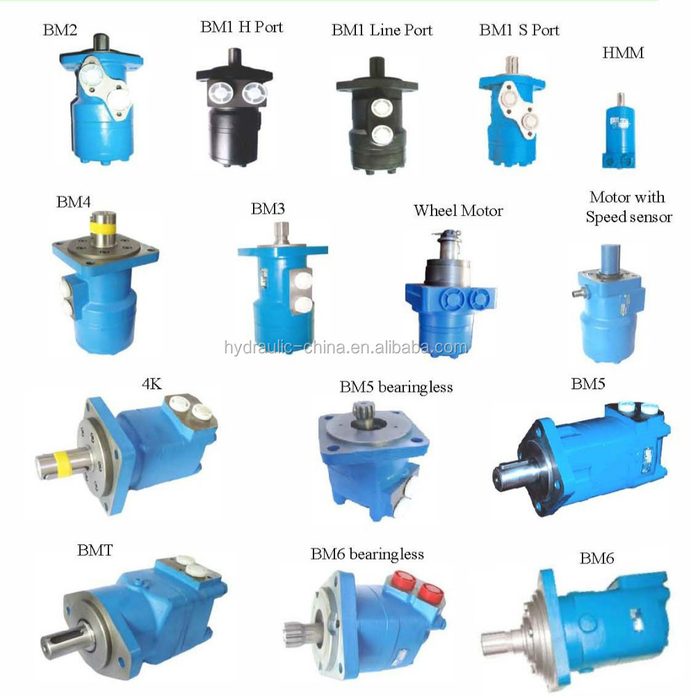 Hydraulic orbit motor HMM series for sale