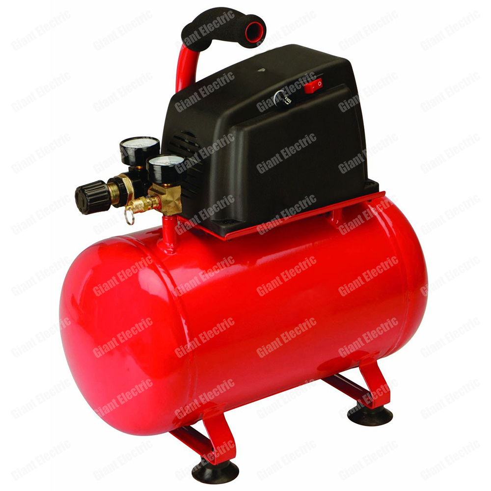 Portable 120V Air Compressor Oil Free Compressor Piston Motor