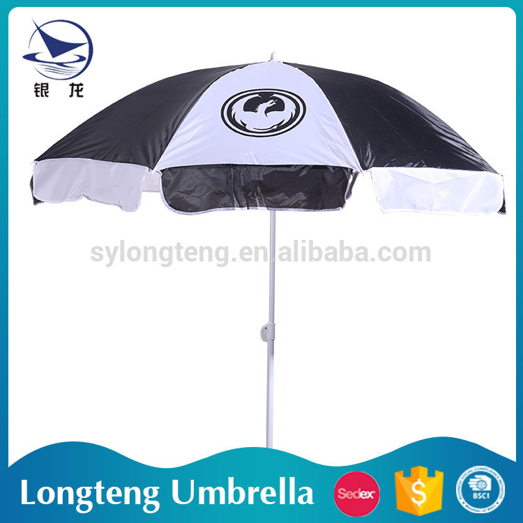 China Manufacturer 10 years experience Sunshade 8 steel ribs promotional umbrella
