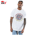 Custom 100% cotton digital printing rose longline bulk t-shirt