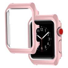 OULUCCI stainless steel Soft Cover for Apple Watch <strong>Case</strong> 44mm 40mm Series 4 Smart Watch <strong>Case</strong> Slim Protector Cover Series 1 2 3
