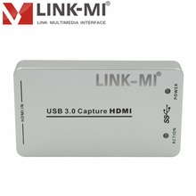 LINK-MI LM-HDVC03 1080P mini HDMI capture card for professional video capture from cameras