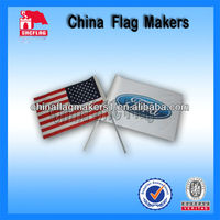 Hand Flag With Logo For Car Dealer Promotion Use