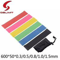 Wholesale 5pcs Exercise Band Mini Loop Resistance Band Set