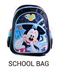 Children mickey mouse backpack craft school bags