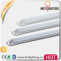 High cost performance 24w 1500mm t8 4100k 5000k clear rotating led tube