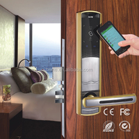 novel design security intelligent high quality electric panel door lock