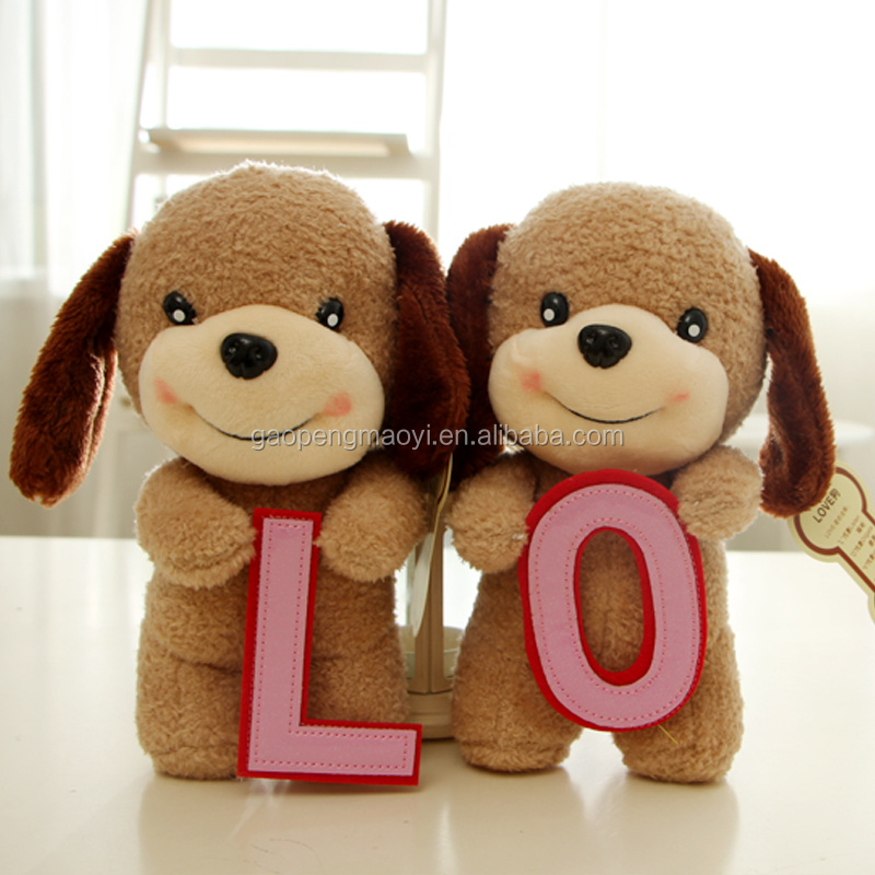 New Cute Puppy Dolls Curly Plush Dogs Stuffed Pet Soft Toys Kids Children Birthday Gifts Decor Collection