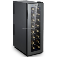 Thermoelectric wine cooler cabinet