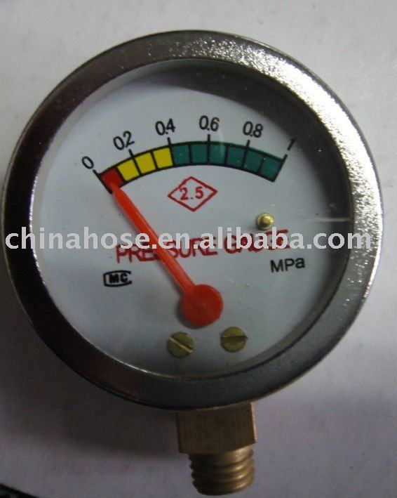 Gas Pressure Gauge Gas Manometer LPG regulator meters