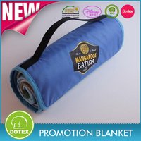 BSCI SEDEX Audited Factory Free Sample Waterproof Portable Picnic Blanket Mat Recycled Moving Blanket Signature Blanket