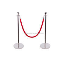 Queuing Solutions-Metal Portable Economy Custom Stanchion, Queue Line Railing Stand Concert Crowd Control Barrier Fence For Sale