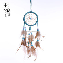 DC0301wholesale indian handmade white dreamcatchers
