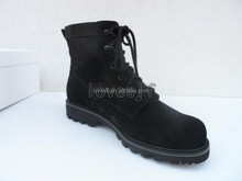 2015Top-grade leather black upper Jungle Boots